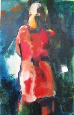 Het rode jurkje