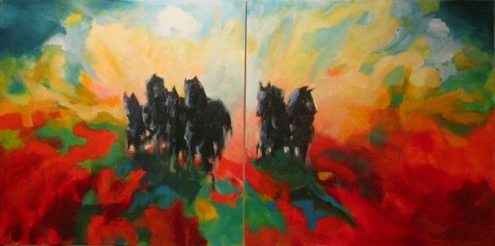 Tweeluik: De Paarden van Marrum