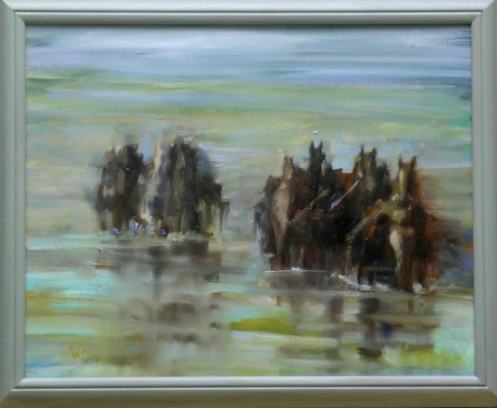 Wadende Paarden
