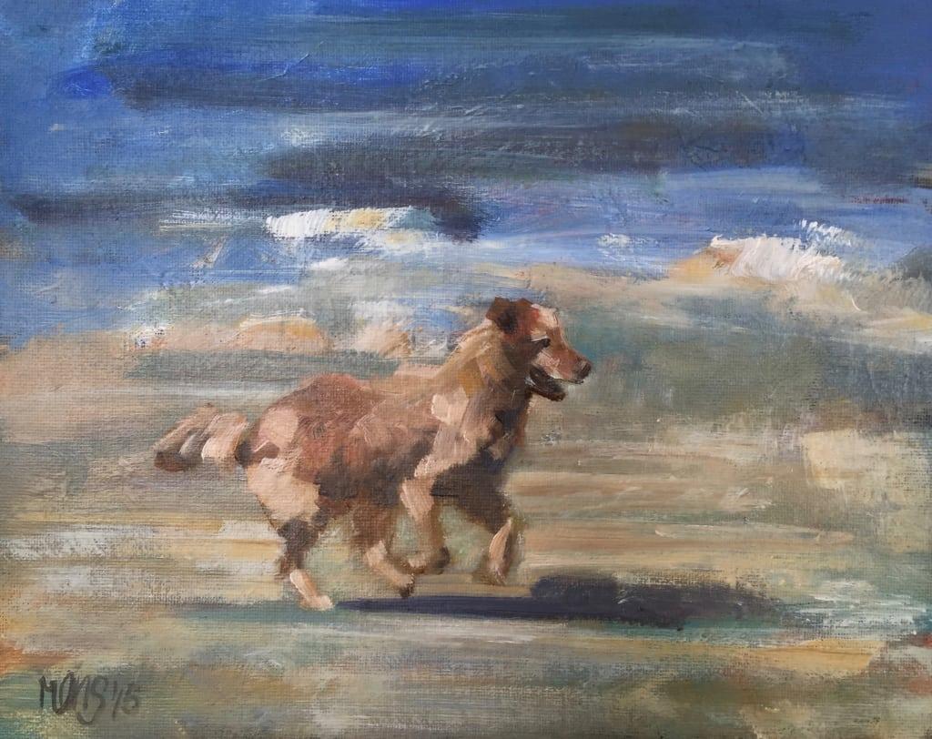 Jonge hond 2