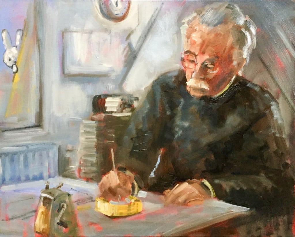 portret van Dick Bruna