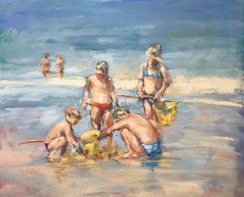 Spelen met zand en water